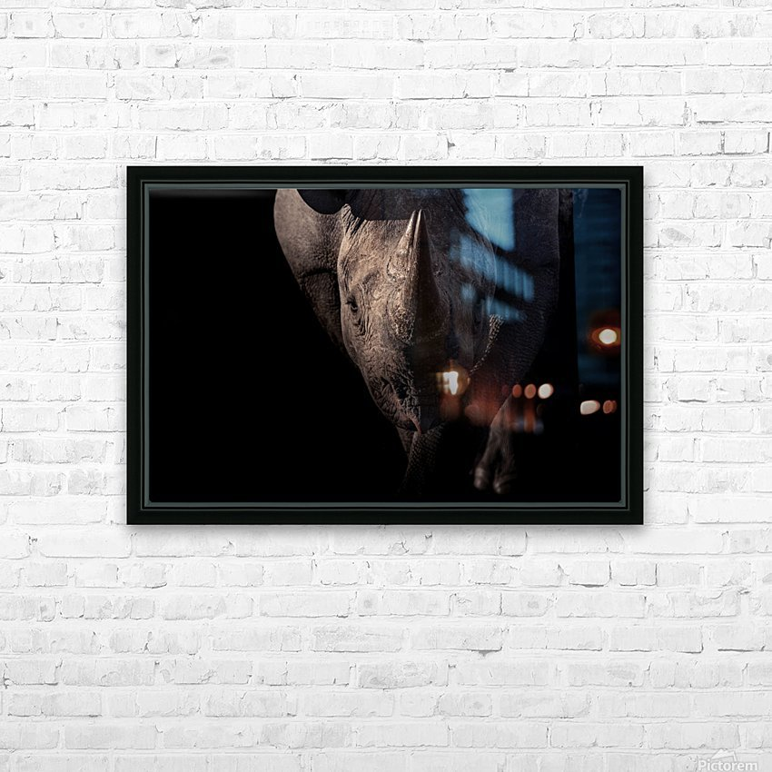BRAVE HD Sublimation Metal print with Decorating Float Frame (BOX)
