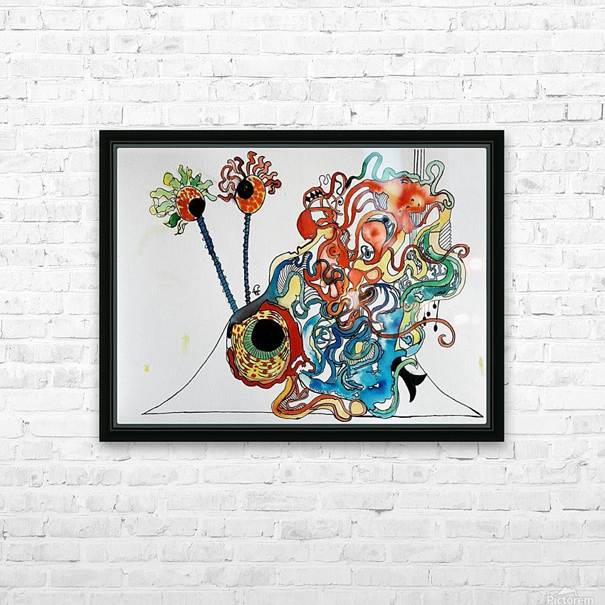 Snurch HD Sublimation Metal print with Decorating Float Frame (BOX)