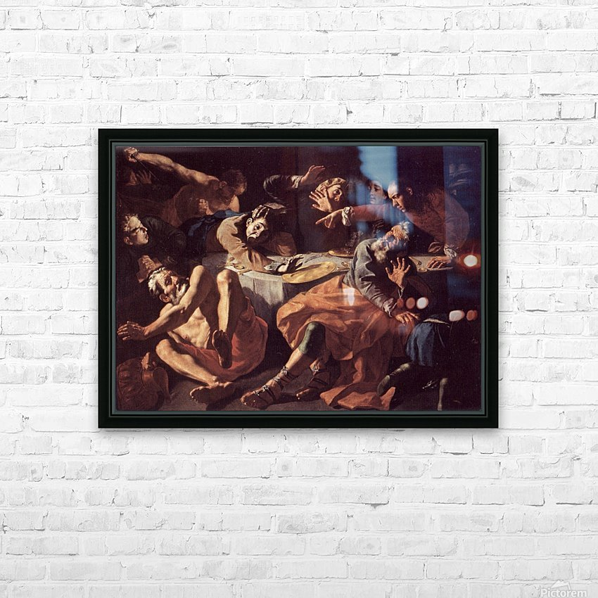 The death of Aaron HD Sublimation Metal print with Decorating Float Frame (BOX)