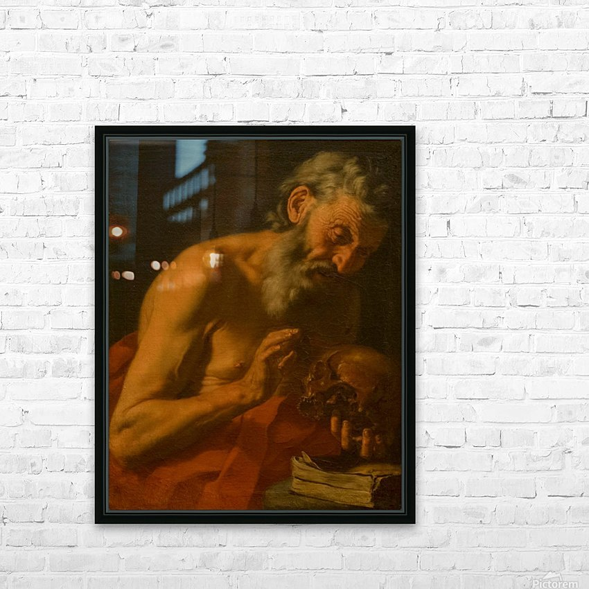 San Girolamo HD Sublimation Metal print with Decorating Float Frame (BOX)