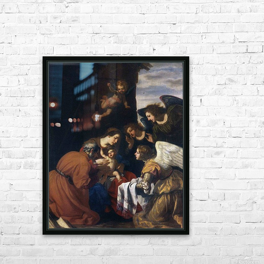 Circumcision of Christ HD Sublimation Metal print with Decorating Float Frame (BOX)