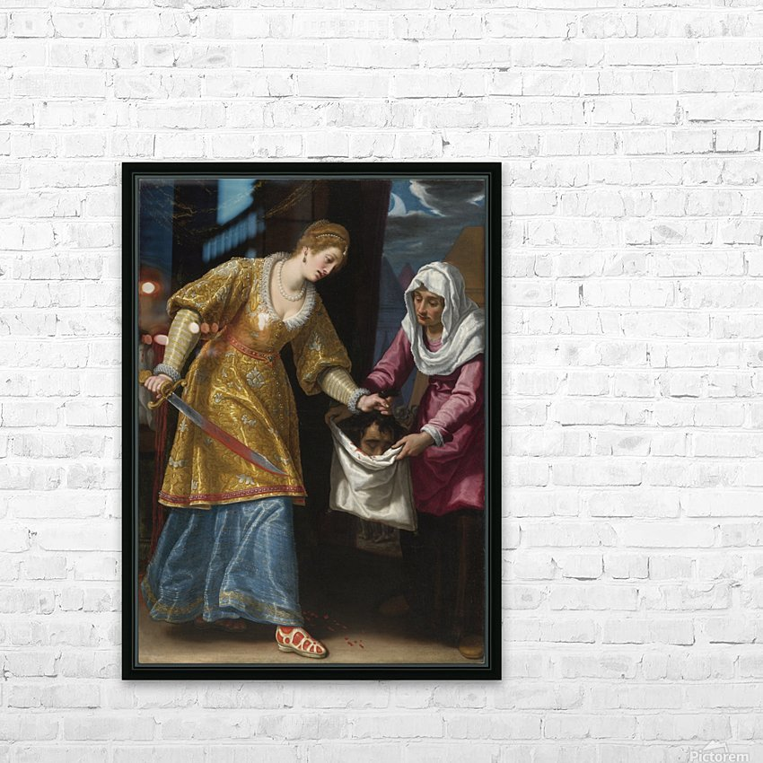 Judith and Holofernes HD Sublimation Metal print with Decorating Float Frame (BOX)
