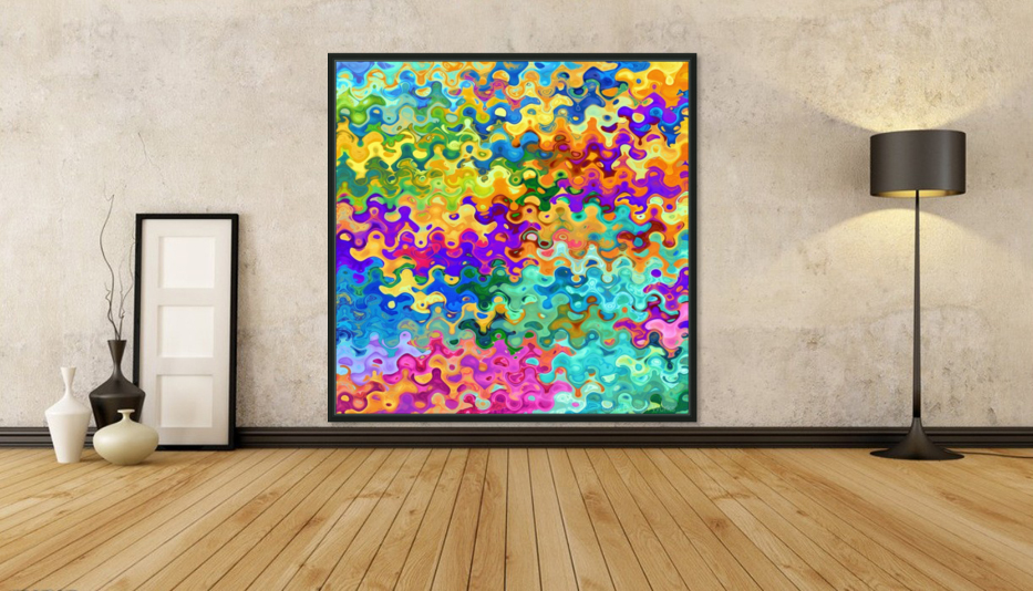 Colorful Abstraction  Art