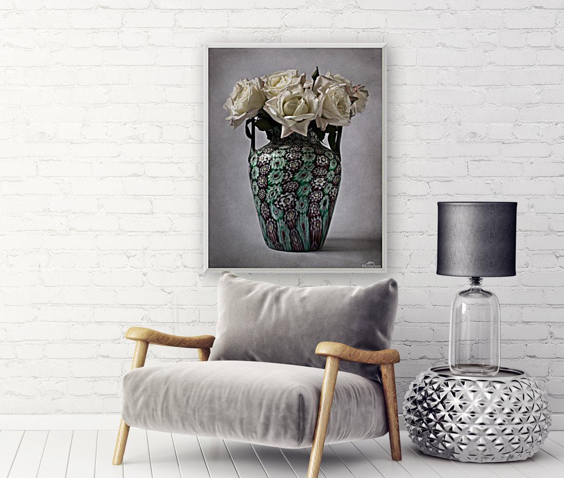 Venetian murrine vase  Art