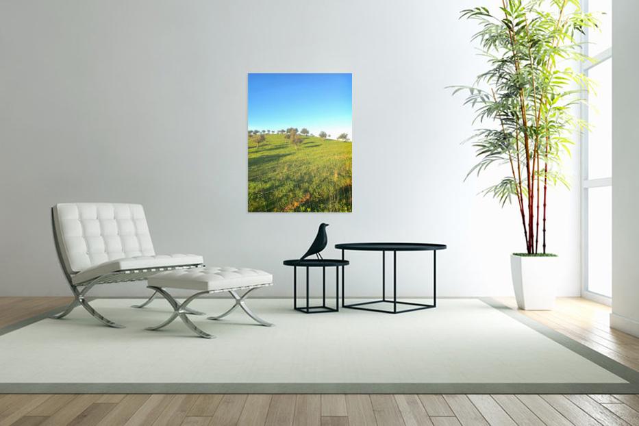 Landscape of central Portuga  Art