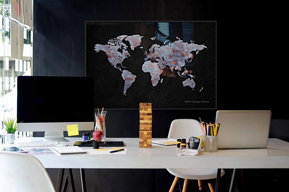 Artistic World Map XII  Art
