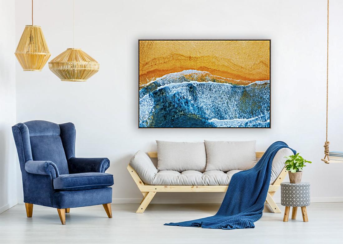 Golden Beach I  Art