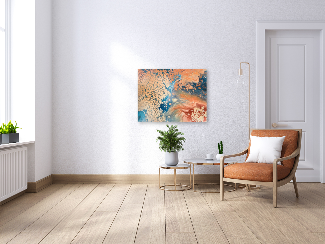 Coral Reef Abstract  Art