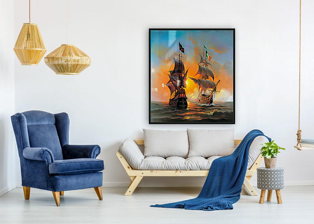 Marauders of the Sea  Art