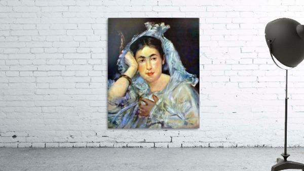 Portrait of Marguerite de Conflans by Manet