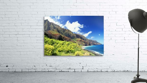 Hawaii, Kauai, Napali Coast, Kalalau Valley, Secluded Beach