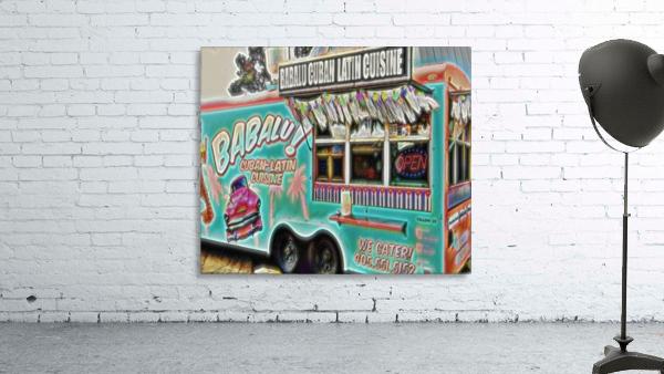 food truck one- okc Print