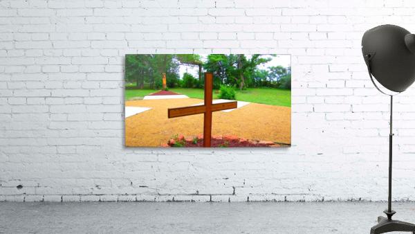 JESUS HOUSE PARK Print