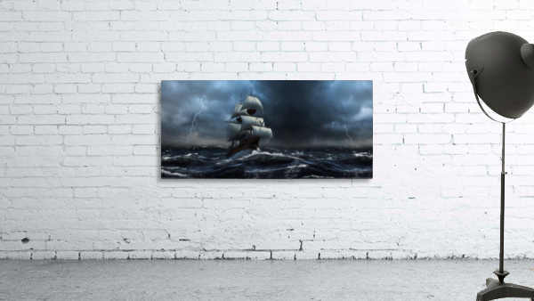 Stormy Seas by Jordan Blackstone