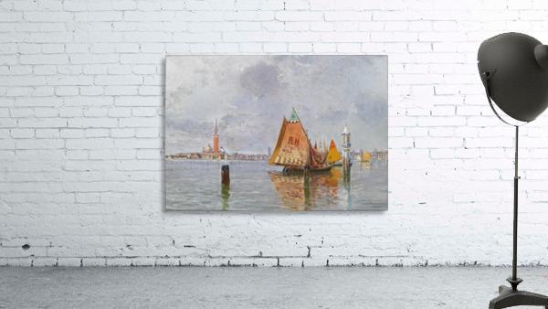 Fishing boats in Venetian lagoon
