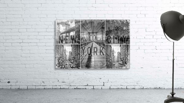NEW YORK CITY Urban Collage No. 3