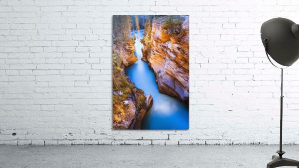 Athabasca Falls At Dusk, Jasper National Park, Alberta
