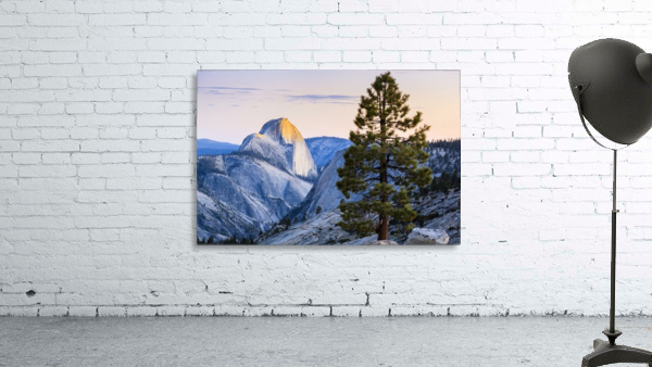 Half Dome seen from Olmsted Point, Yosemite National Park; California, United States of America