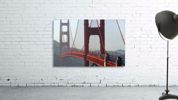 R.Watts; Golden Gate Bridge, San Francisco, Ca