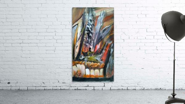 abstact canvas acrylic