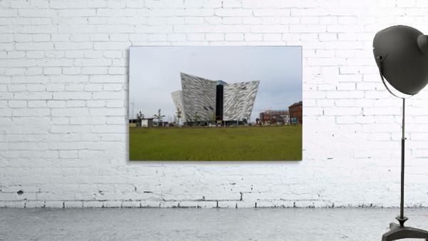 THE TITANIC MUSEUM, BELFAST Print