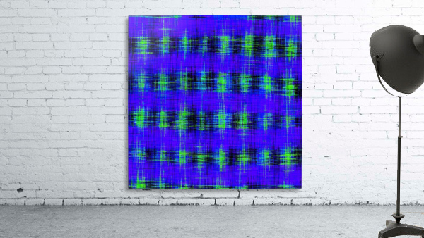 plaid pattern abstract texture in blue green black