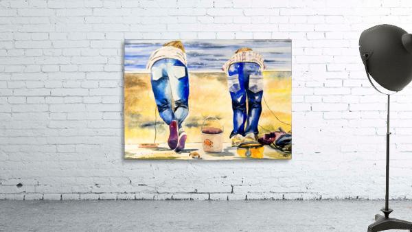 The Crab Catchers - Hammond Fine Art Canvas