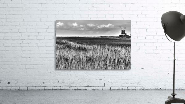 Marsh windmill