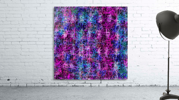 psychedelic abstract art pattern texture background in pink blue black
