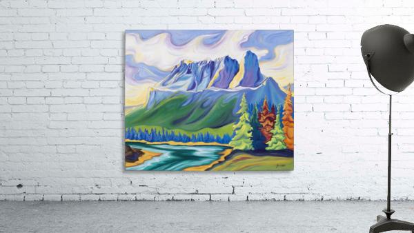 Castle Mountain Beauty