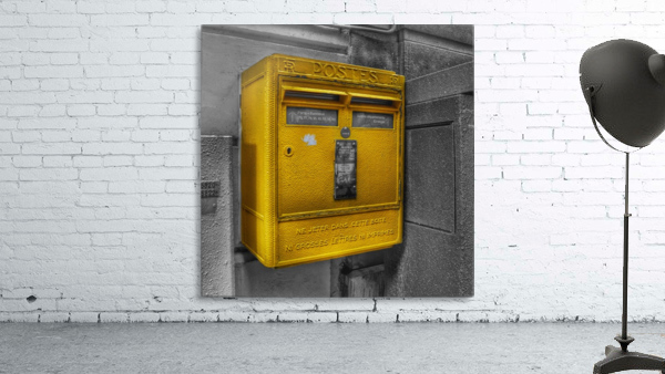 Old French Mailbox