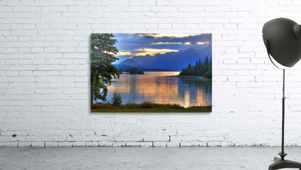 Sunrise On Lake Clark In Lake Clark National Park, Southcentral, Alaska, Hdr Image