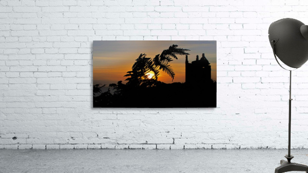 Fern castle sunset