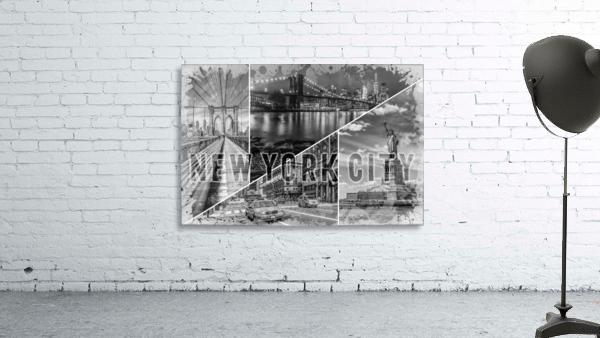 NEW YORK CITY Urban Collage No. 2