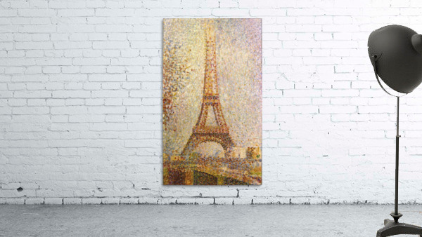 The Eiffel Tower by Seurat