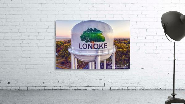 Lonoke AR   Painted Water Tower 2017