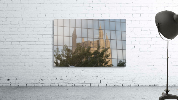 Reflection of Church Building