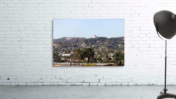 Hollywood Hills from Silver Lake