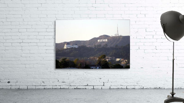 Hollywood Hills with Griffith Park Observatory