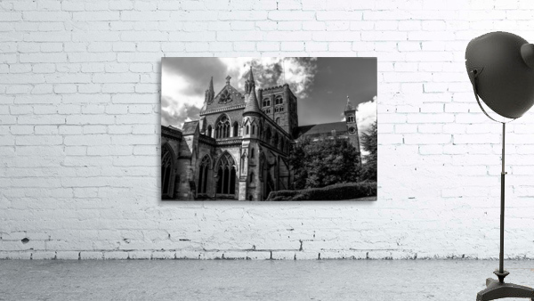 Cathedral   - Black and White image