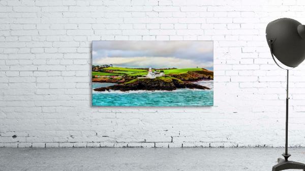 Lighthouse Cobh Ireland Paint effect