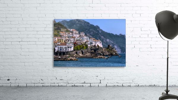 Artistic Amalfi Coast Landscape