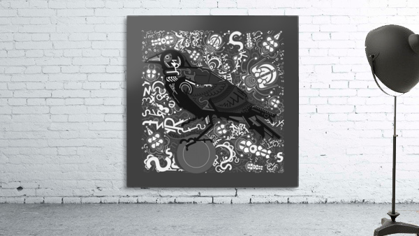 Type Is Mythic - Typography Art Print