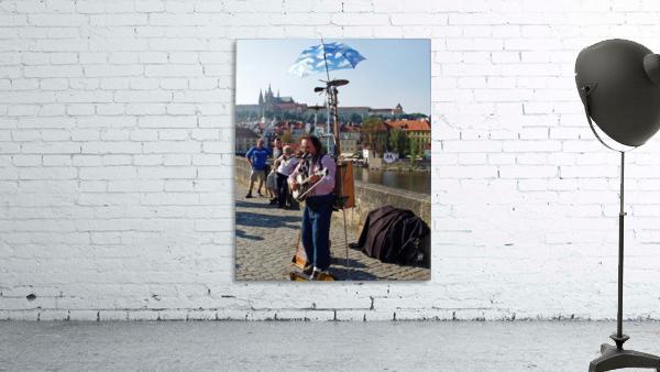Charles Bridge Prague Street Musician