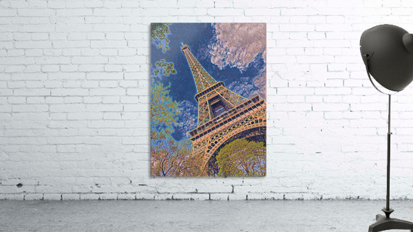 Eiffel Tower- Abstract