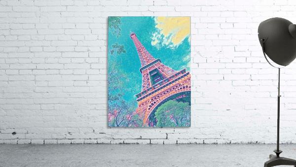 Eiffel Tower- Teal