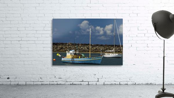 Blue Boat at Apollo Bay 011142609