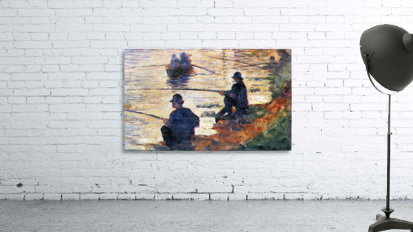 Two Fishermen by Seurat