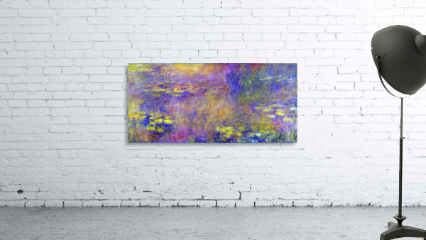 Water Lilies - (Yellow nirvana) by Monet