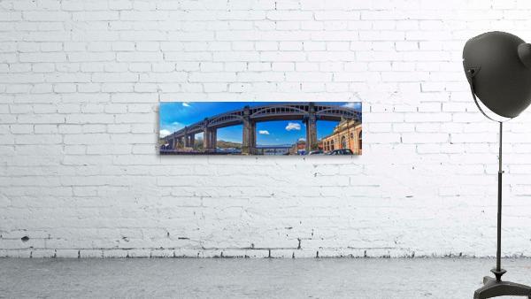 Newcastle railway bridge
